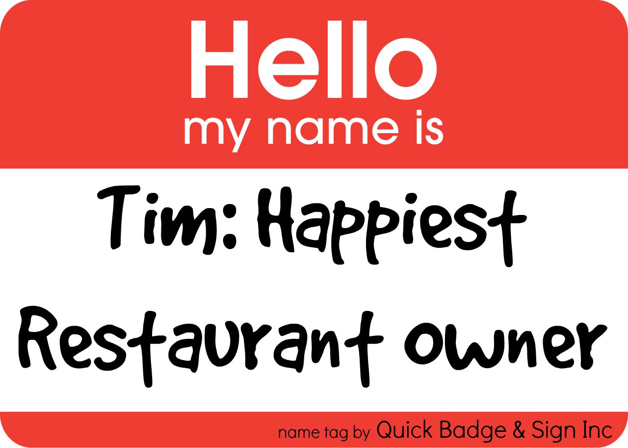 Tim: Happiest Restaurant Owner
