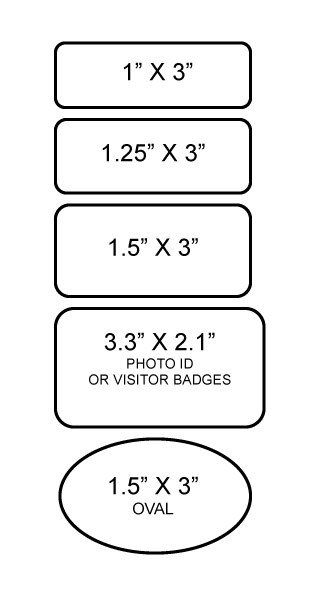 Badge Sizes