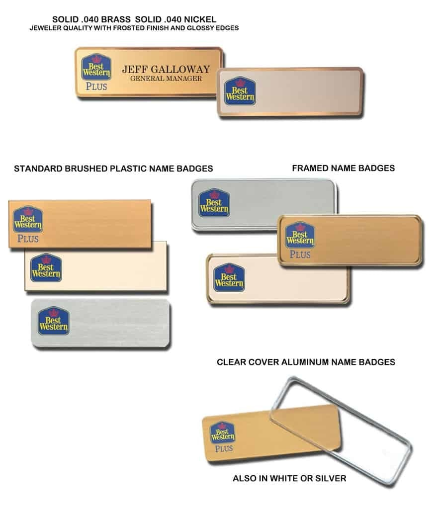 Photo ID Cards Badges and Tags Best Name Badges - oukas info