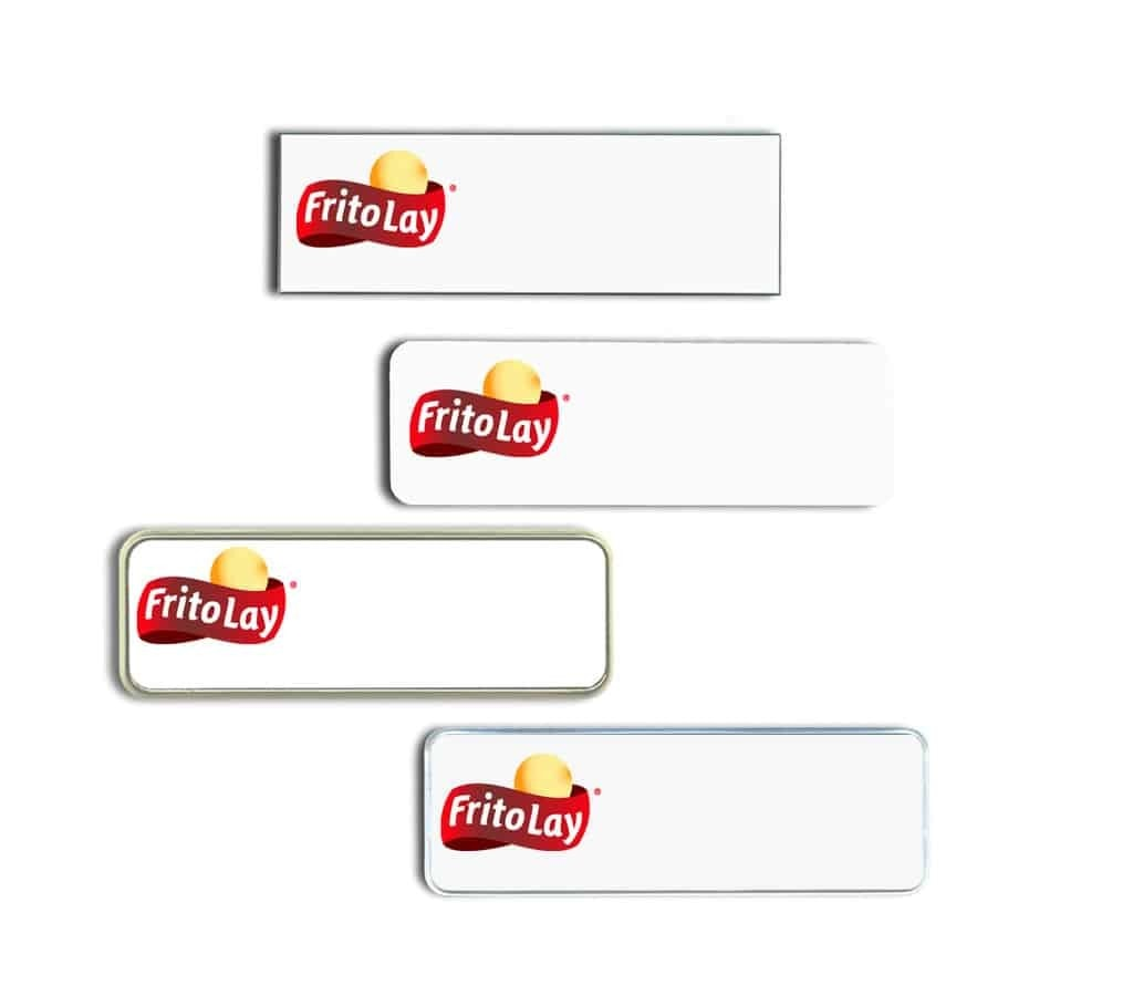 Frito Lay Name Tags Badges
