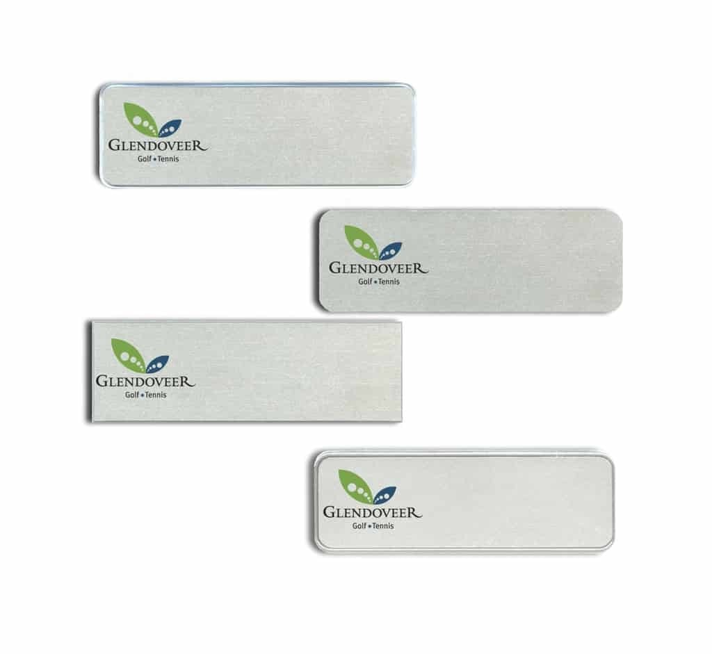 Glendoveer Golf Club Name Tags Badges