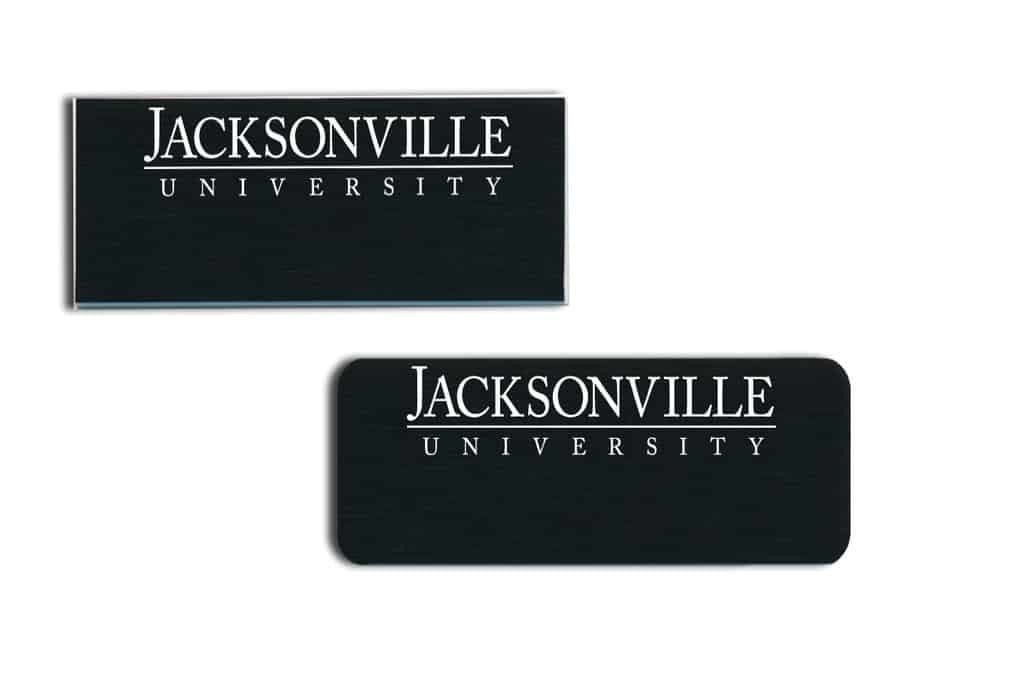 Jacksonville University Name Tags Badges