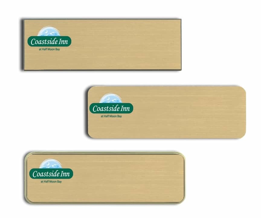 Coastside Inn Name Tags Badges