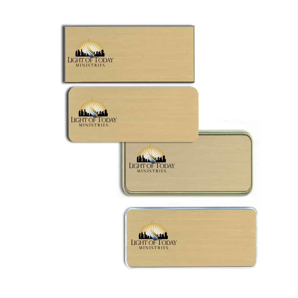 Light of Today Ministries Name Tags