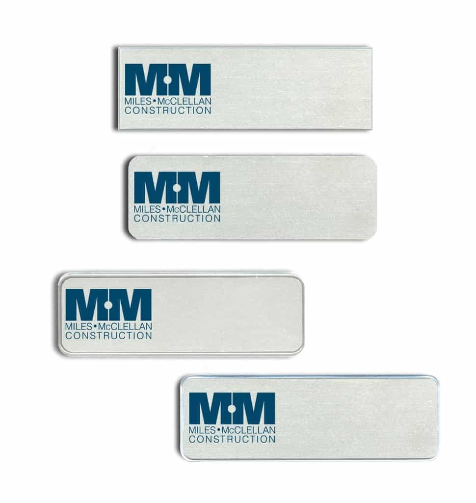 MM Construction Name Tags Badges