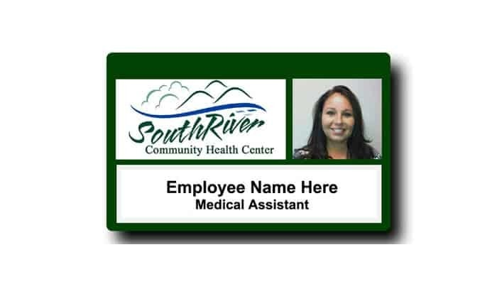 South River Community Health Center Name Tags Badges