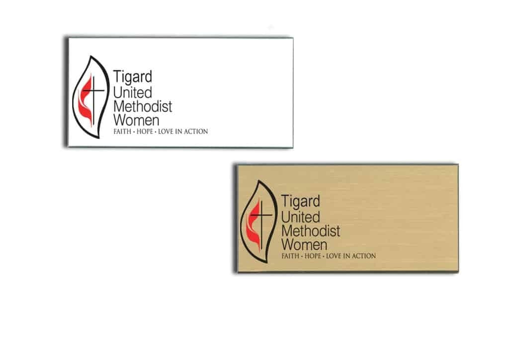 United Methodist Women Name Tags Badges