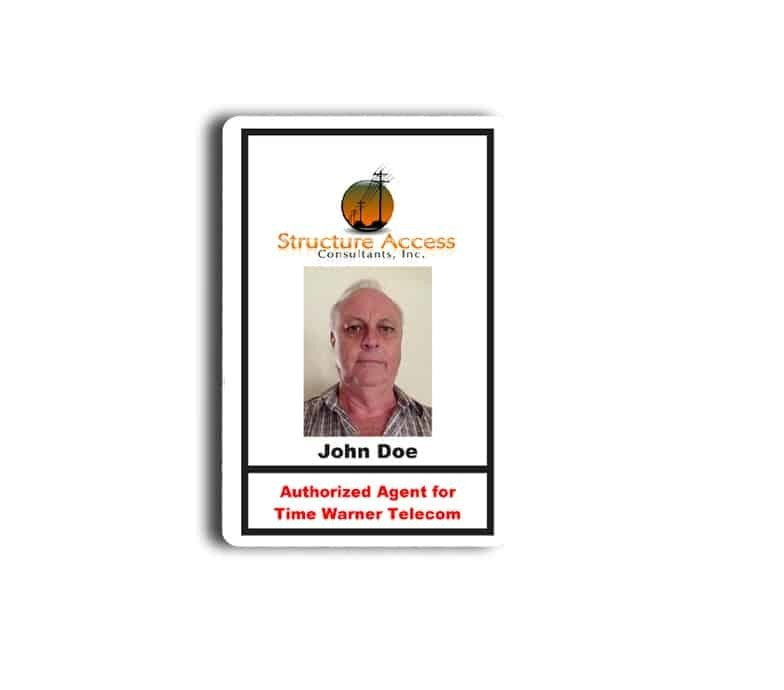 Structure Access Inc Name Tags Badges