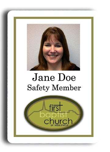 name tags first baptist church of middleville