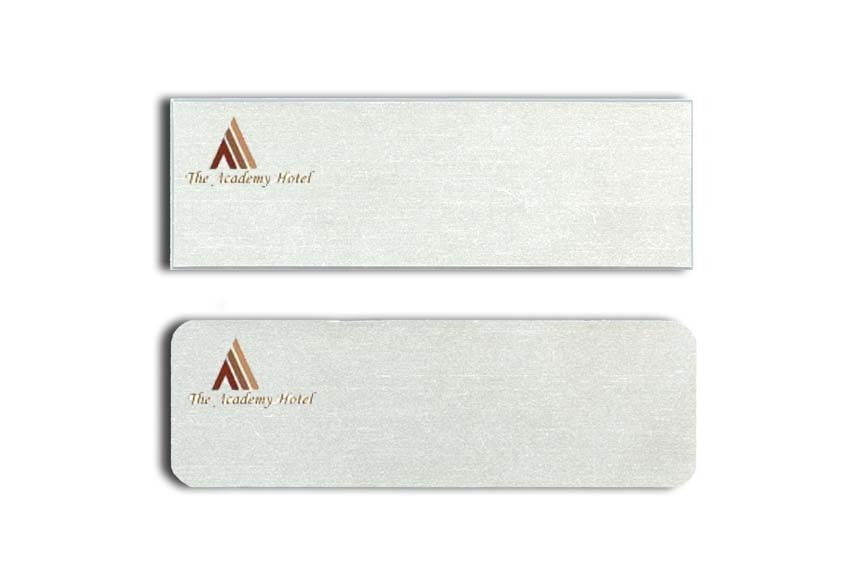 Academy Hotel Name Tags Badges
