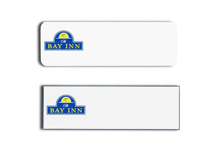 Bay Inn Name Tags Badges