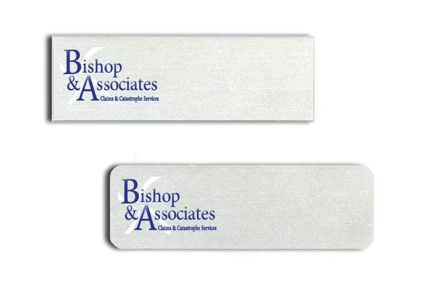 Bishop and Associates Name Tags Badges