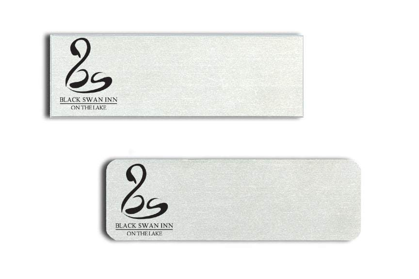 Black Swan Inn Name Tags Badges