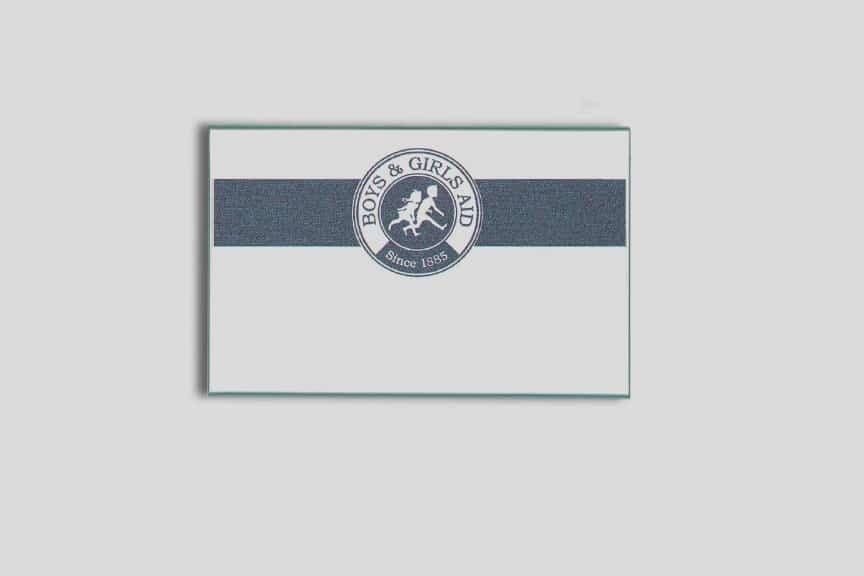 Boys and Girls Aid Name Tags Badges