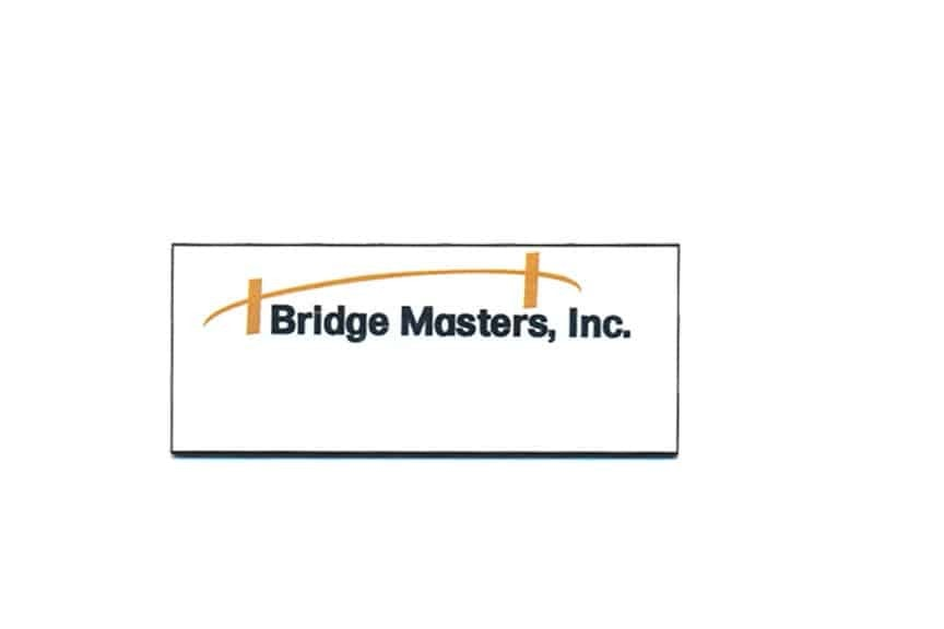 Bridge Masters Inc Name Tags Badges