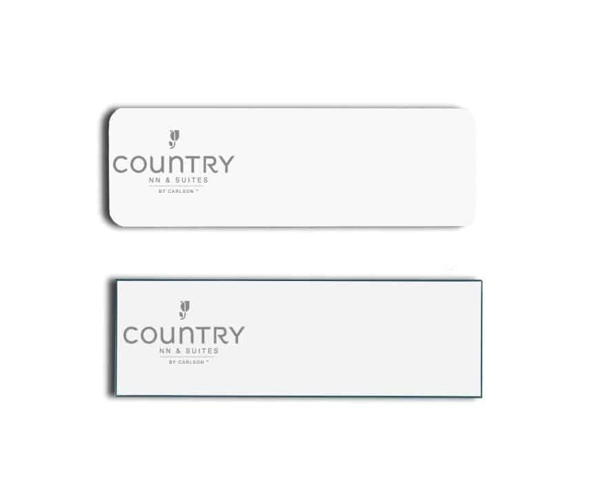 Country Inn Name Tags Badges