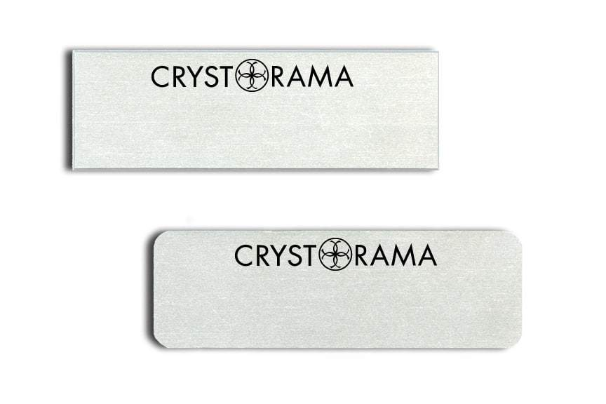 Crystorama Name Tags Badges