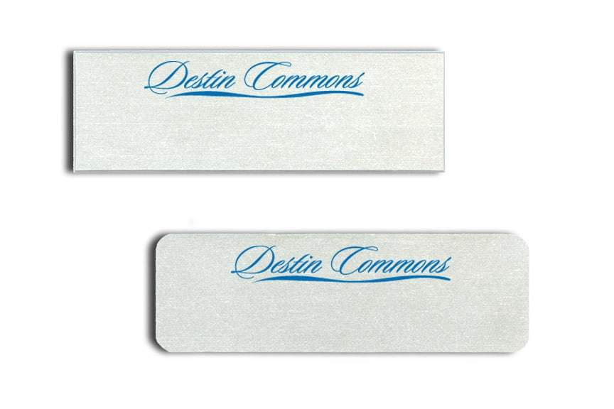 Destin Commons Name Tags Badges