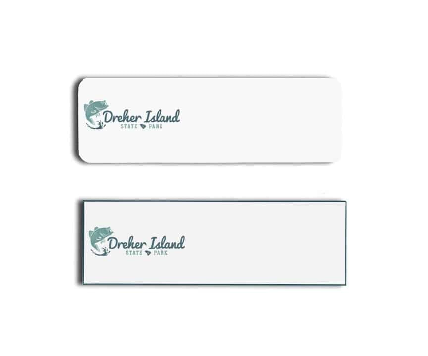 Dreher Island State Park Name Tags Badges