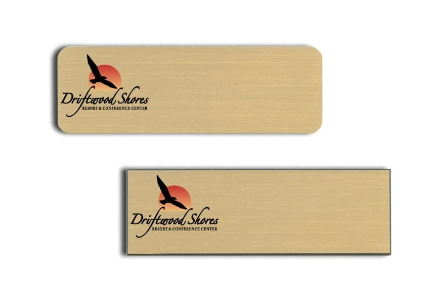 Driftwood Shores Name Tags Badges