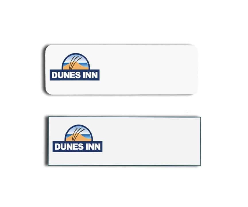 Dunes Inn Name Tags Badges