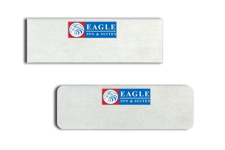 Eagle Inn and Suites Name Tags Badges