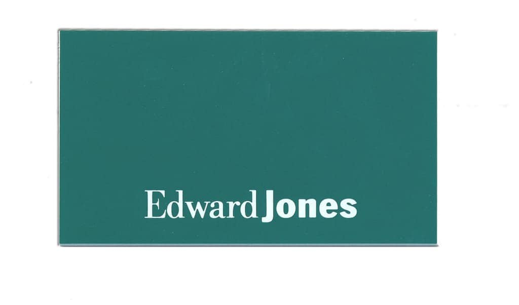 Edward Jones Name Tags Badges