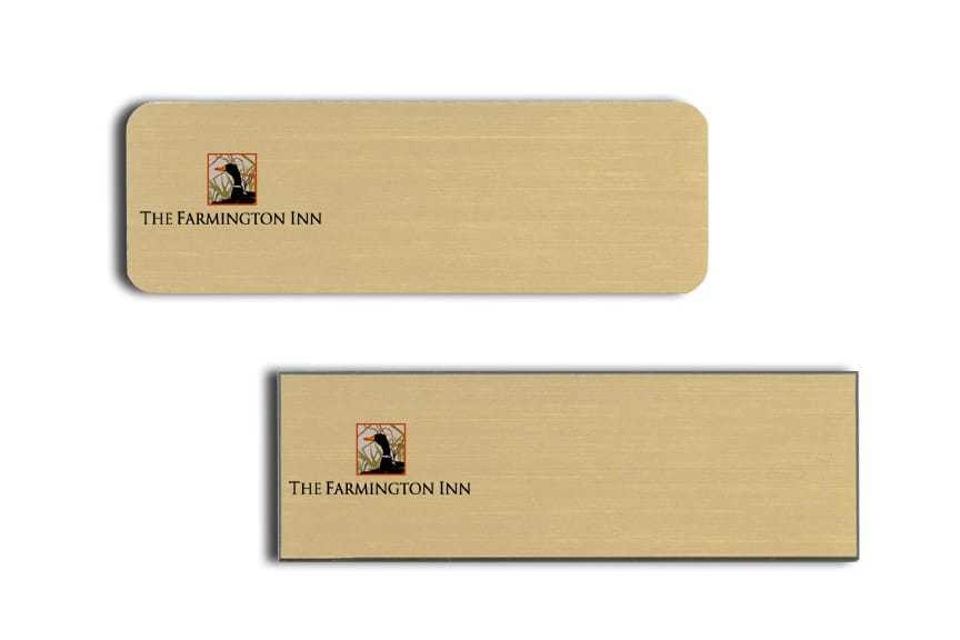 Farmington Inn Name Tags Badges