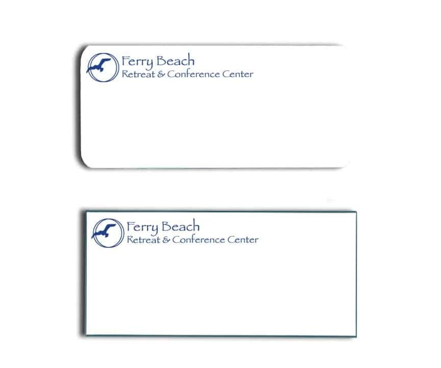 Ferry Beach Retreat Name Tags Badges