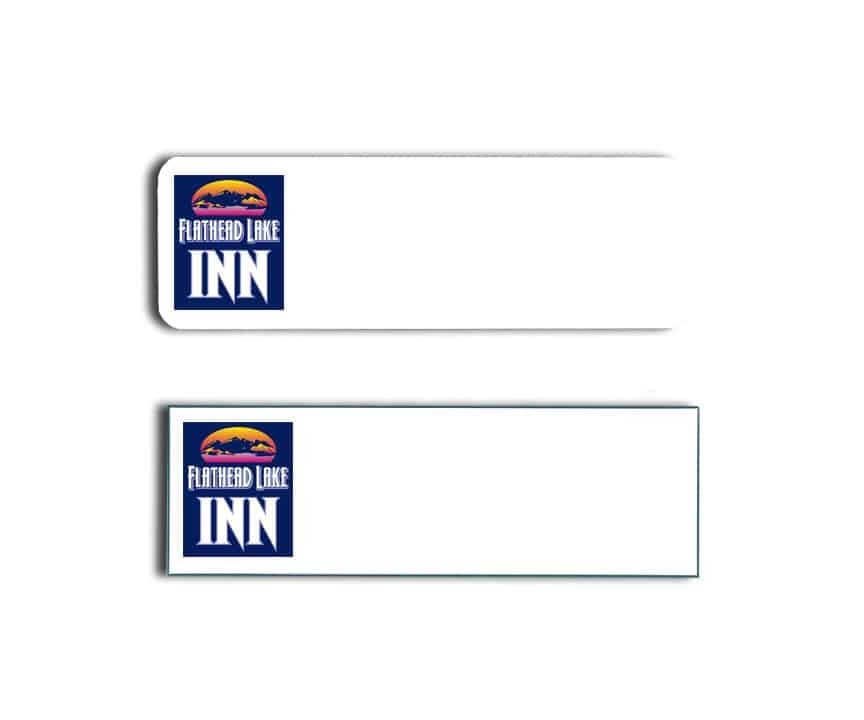 Flathead Lake Inn Name Tags Badges