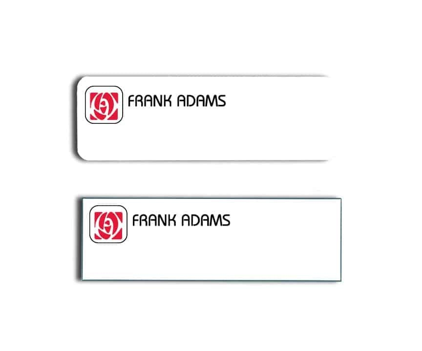 Frank Adams Name Tags Badges