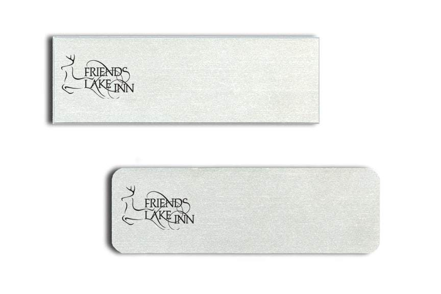 Friends Lake Inn Name Tags Badges
