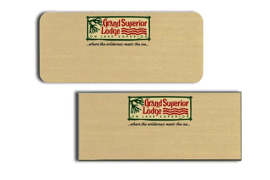 Grand Superior Lodge Name Tags Badges