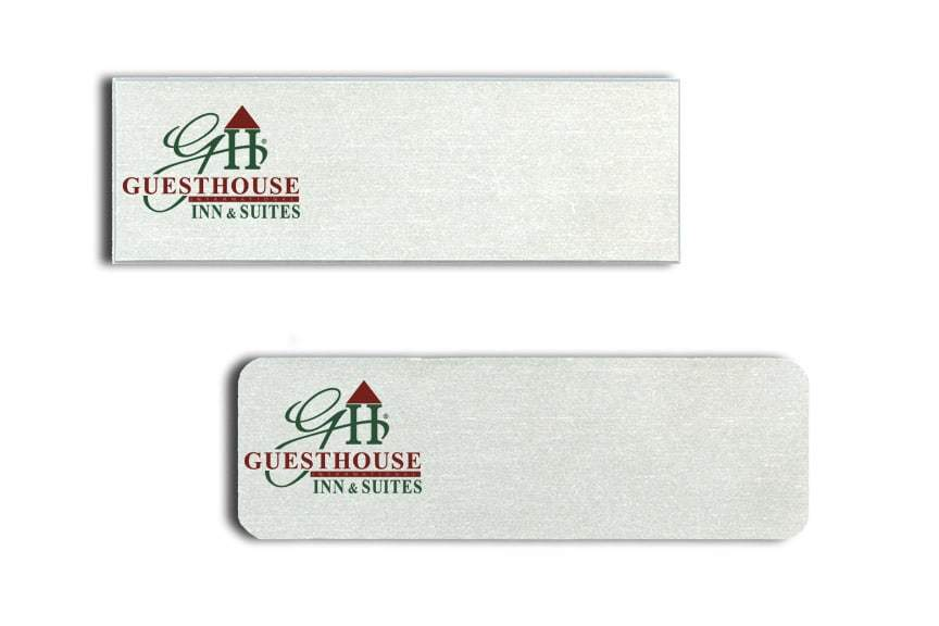 Guesthouse Inn and Suites Name Tags Badges