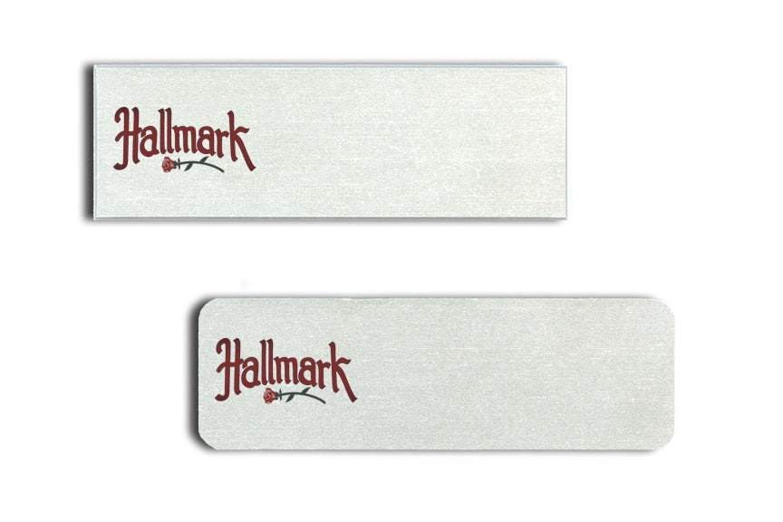 Hallmark Name Tags Badges