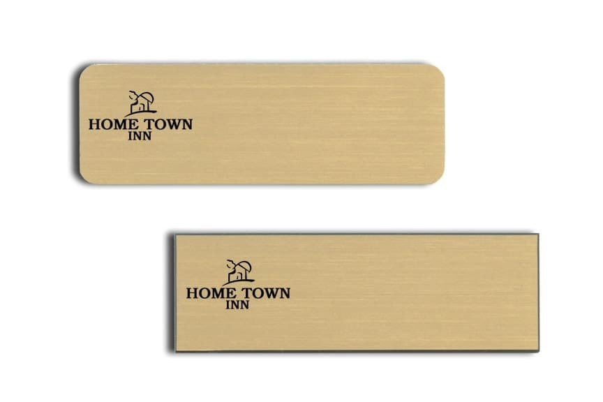 Home Town Inn Name Tags Badges