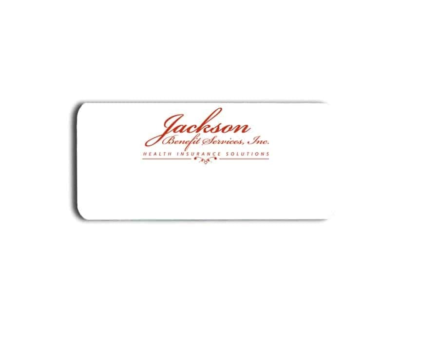 Jackson Benefit Services Inc Name Tags Badges