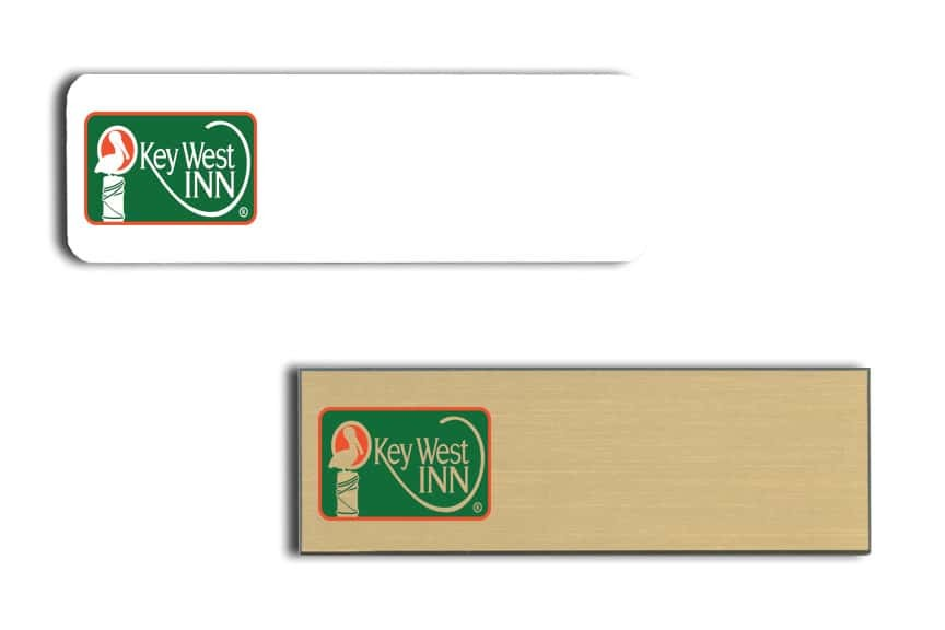 Key West Inn name badges
