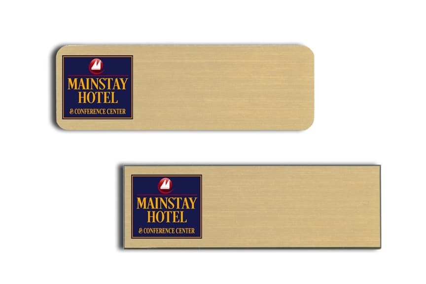 Mainstay Hotel & Convention Center Name Tags