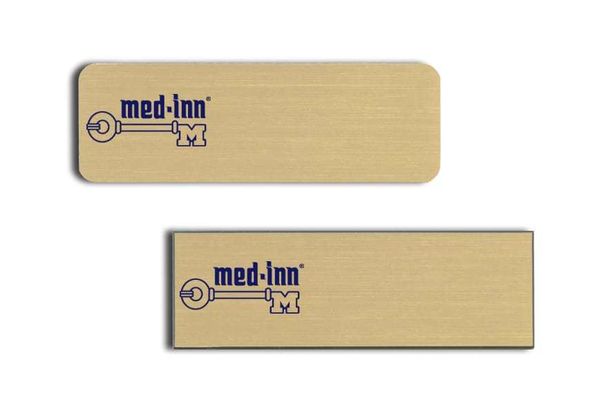 Med-Inn Name Tags Badges