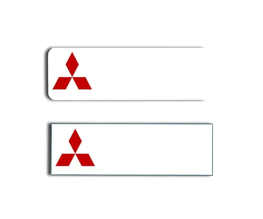 Gladstone Mitsubishi Name Tags Badges