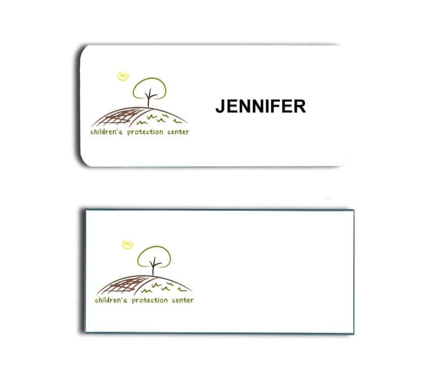 Childrens Protection Center Name Badges