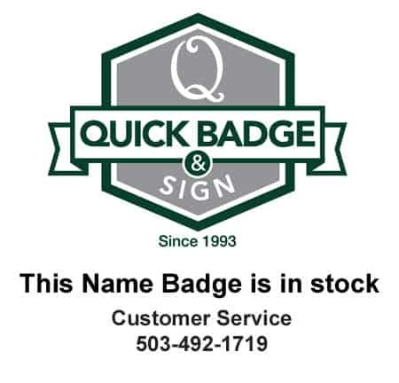 MD Home Health Name Tags Badges