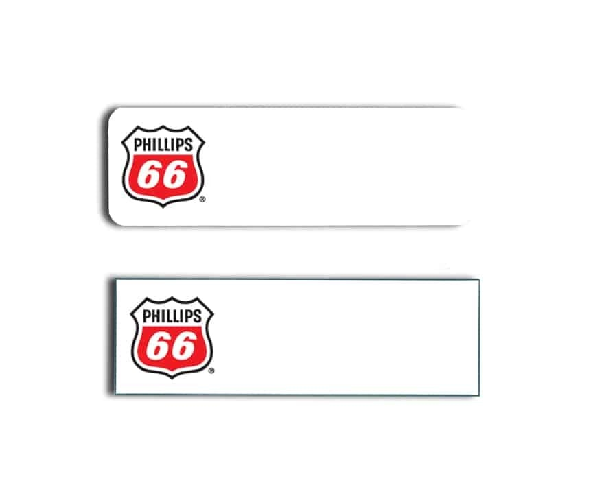 Phillips 66 Name Badges Tags