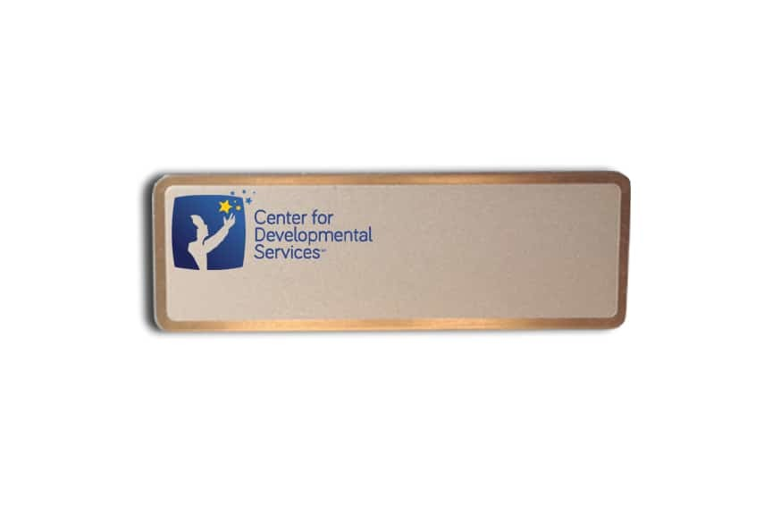 Center for Developmental Services name tags