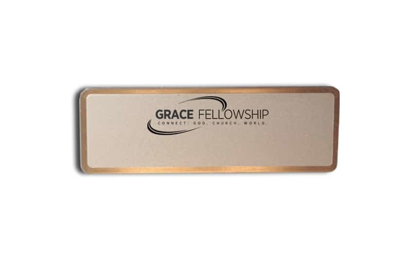 Grace Fellowship name tags badges