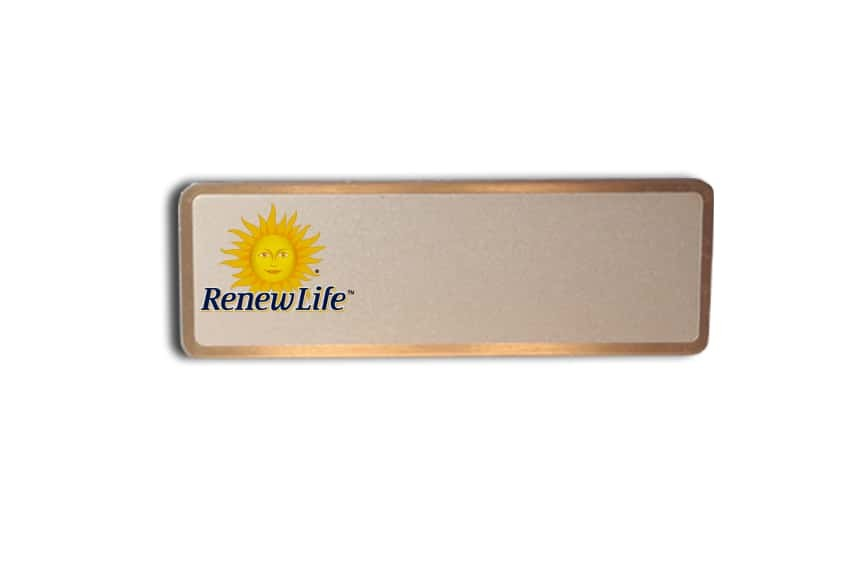 Renew Life name badges tags