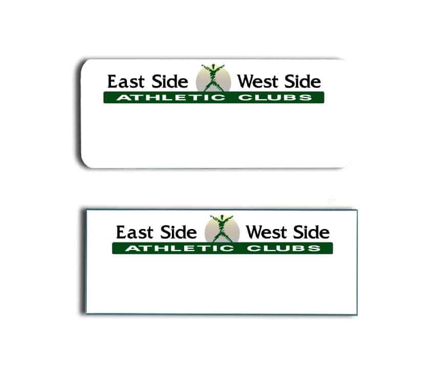 Portland badges East Side West Side Athletic
