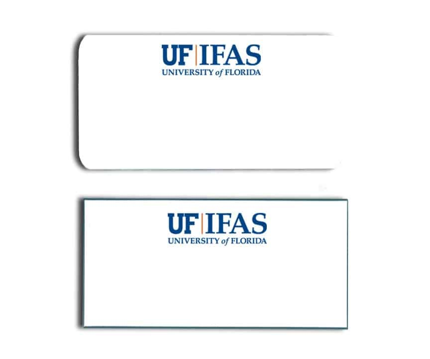 University of Florida IFAS name badges