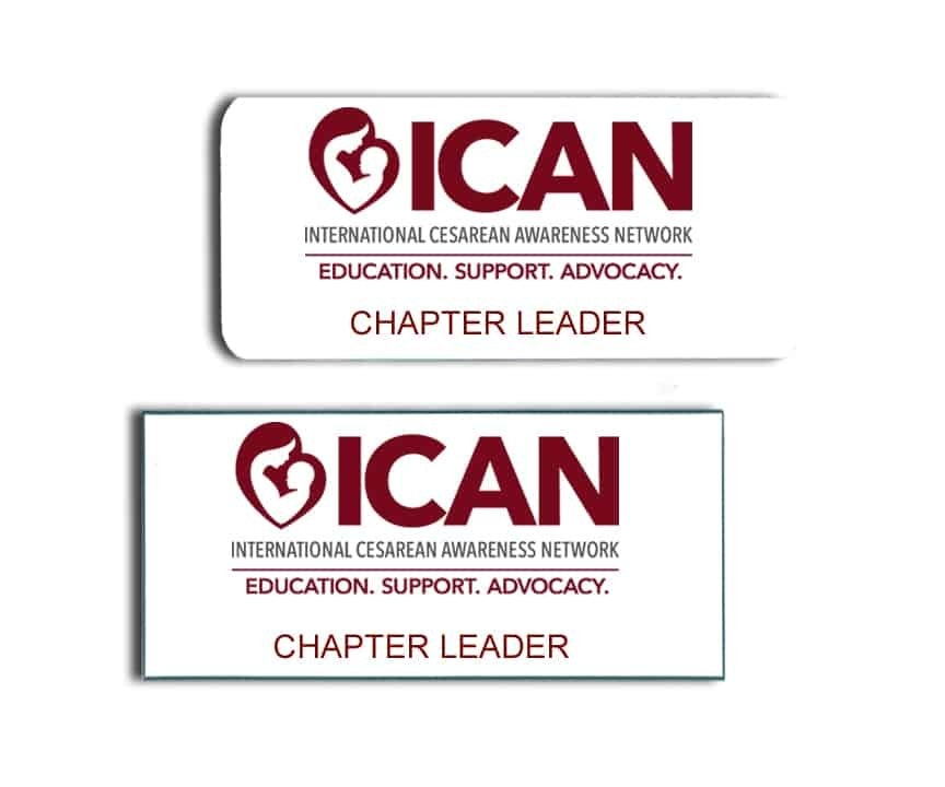 ICAN name badges